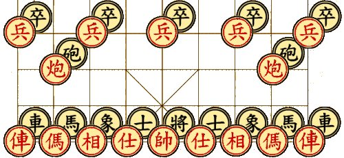 XiangQi (Red against Black)